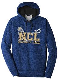 Ncl Sport Tek Posicharge Electric Heather Fleece Hooded Pullover