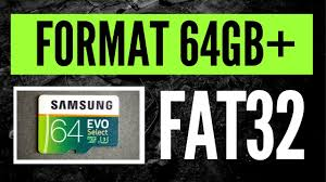 If the capacity of your sd card is less than 64 gb, set the file system to fat32. How To Format A 64gb Micro Sdxc Card In Fat32 For Dashcam Use Youtube