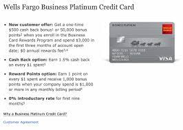 With the cash back option, cardholders earn unlimited 1.5% cash back on all purchases. Wells Fargo Business Platinum Visa Approved Myfico Forums 5573144