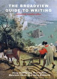 writing essays about literature broadview press the broadview guide to writing revised canadian sixth edition