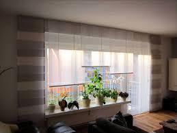 Gardinen Bodentiefe Fenster Schön Vorhange Ideen Kleines Frische