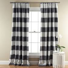 adorable terrific laminate floor and stylish black striped curtains and rugby stripe curtains and gray