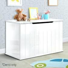 childrens wooden toy box baby toy box nursery wood storage chest organizer white