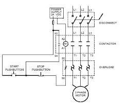 contactor control wiring diagram contactor image control wiring diagram of 3 phase motor wiring diagram on contactor control wiring diagram