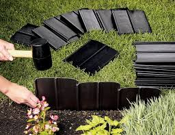 tall flexible garden edging novocom top