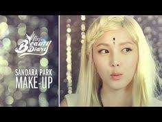 pony s beauty diary sandara makeup with english subs 산다라박메이크업