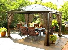 gazebo kits at outdoor sears canopy tent patio gazebos within cover costco pergola