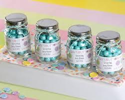 Decorating With Mason Jars For Baby Shower Baby Shower Mason Jar Favors oxsvitation 72