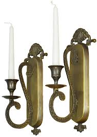 arm metal candlestick holders ant 707