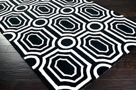red geometric rug area summit black white rugs grey geom and