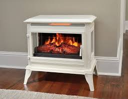 comfort smart jackson cream infrared electric fireplace stove