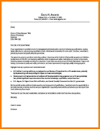 8 Example Cover Letter Format Precis Format