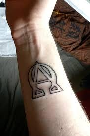 Tattoo Uploaded By Kuro Alpha Omega Alphaomega Alpha Omega