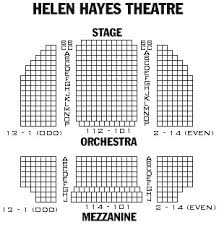 Hayes Theater Seating Chart 40 Eye Catching Hayes Theatre Seating Chart
