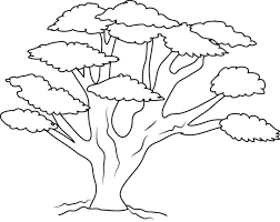 Small Picture Tree coloring pages tree branch coloring pages kids coloring pages