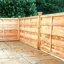 garden fencing panels. Horizontal Wooden Fence Panels Hit And Miss Garden Fencing Other Supplies From