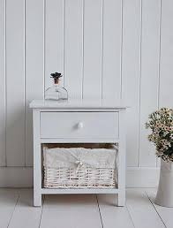 white wood bedside table side tables for bedroom nightstand small white bedside table white