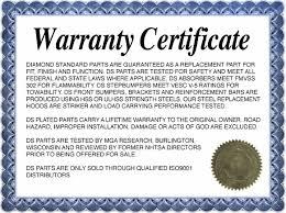 warranty template word warranty certificate template card certificate templates warranty