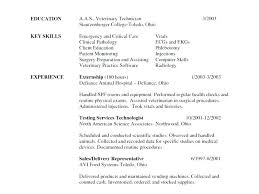 Tech Resume Classy Veterinary Technician Resume Templates Inspirational Assistant