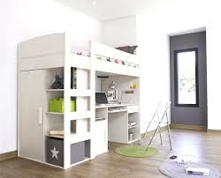 space saving office ideas. Marvelous Shoebox Space Saving Ideas Onderful Adorable Beige Painted Wooden Loft Beds With Computer Desk In Office O