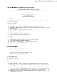 Resume Information Extraordinary Information Security Analyst Sample Resume Classy Data Security