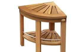 handicap exciting seat extended common bench dimensions shower triangle plans steam top ideas height tile teak