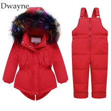 new infant baby girls boys winter coat jacket suit kids outerwear duck down jacket overalls toddler