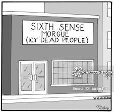 Sixth Sense cartoon 15 of 23