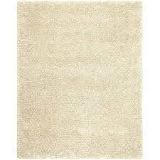 allen + roth Opening Night Polish Cream Indoor Inspirational Area Rug  (Common: 8 x
