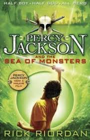 percy jackson and the sea of monsters new cover