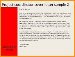 2 3 Project Management Cover Letter Sample Wear2014 Com