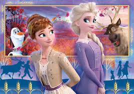 Disney Frozen 2 - 60 pcs - Supercolor Puzzle - Clementoni