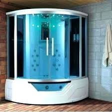 shower combo corner tub combination bath photo als eagle steam w whirlpool bathtub jacuzzi full size