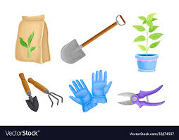 rubber gloves and ironmongery vector image