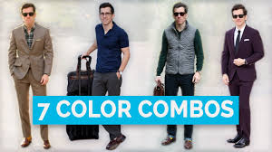 7 Best Clothing Color Combinations For Men Color Matching Guide