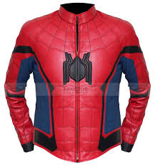 2 reviews for spiderman homecoming leather jacket