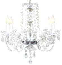 the gallery crystal chandelier authentic all crystal chandelier 4 light gallery venetian style all crystal 12