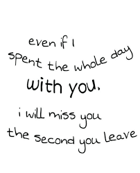 Missing Quotes For Her Stunning Best Love Quotes Missing You Together With I Will Miss You Love