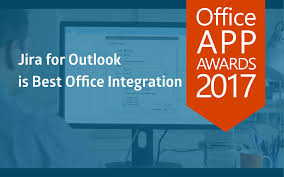 Office Award Jira For Outlook Wins Office App Award 2017 In The Category Best