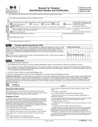W-9 Tax Form 2017 - Fill Online or Download PDF for Free