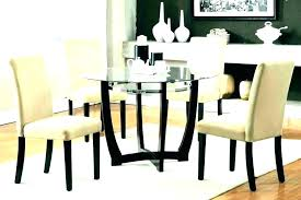 glass small dining table and 2 chairs kitchen round with gla