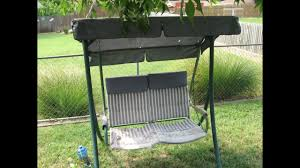 how to refurbish a 2 seat patio swing rus4860