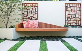 designs outdoor wall art: wall art design ideas beautify decorations outdoor wall art ideas modern simple exterior wooden chair