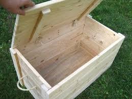 diy wood chest wood storage box