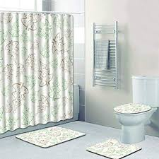 Bathroom Window Delectable Amazon RANSXYX 48 Piece Bathroom Set Fantasy Trees Hand
