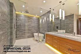 contemporary bathroom lighting ideas. Outstanding Modern Bathrooms Lighting Bathroom Contemporary Led  Lights For Great Home Security Concept Or Other Contemporary Bathroom Lighting Ideas R