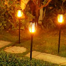 Outdoor torch lights Flame Szfc Led Garden Waterproof Outdoor Courtyard Lamp Solar Tiki Torch Lights Dancing Flame Flickering 96 Leds Decorative Light Ip65 Aliexpresscom Szfc Led Garden Waterproof Outdoor Courtyard Lamp Solar Tiki Torch