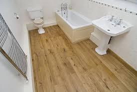 engineered oak flooring in bathrooms
