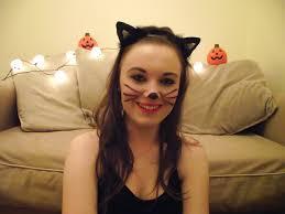 makeup look black cat