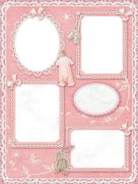baby collage frame photo frame collage of four photos for baby girl free photo frame